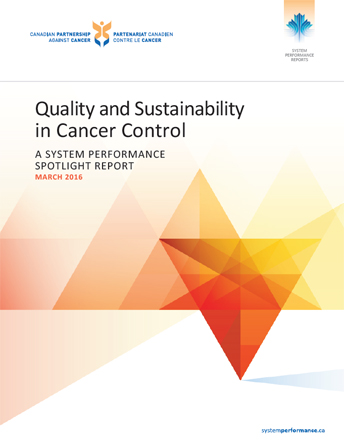 Cover image of  Quality and Sustainability in Cancer Control